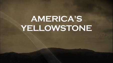 America's Yellowstone (2018)