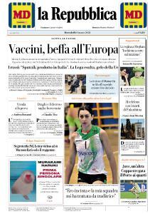 la Repubblica - 10 Marzo 2021