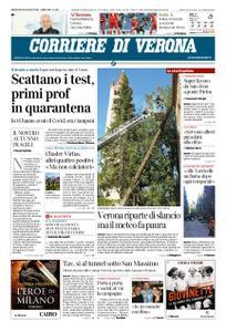 Corriere di Verona – 26 agosto 2020