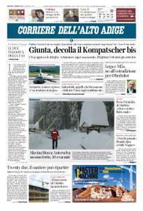 Corriere dell'Alto Adige – 15 gennaio 2019