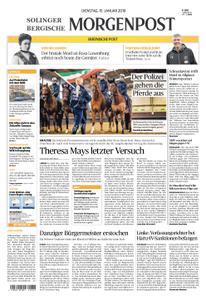 Solinger Morgenpost – 15. Januar 2019
