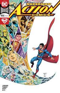Action Comics 994 2018 2 covers Digital