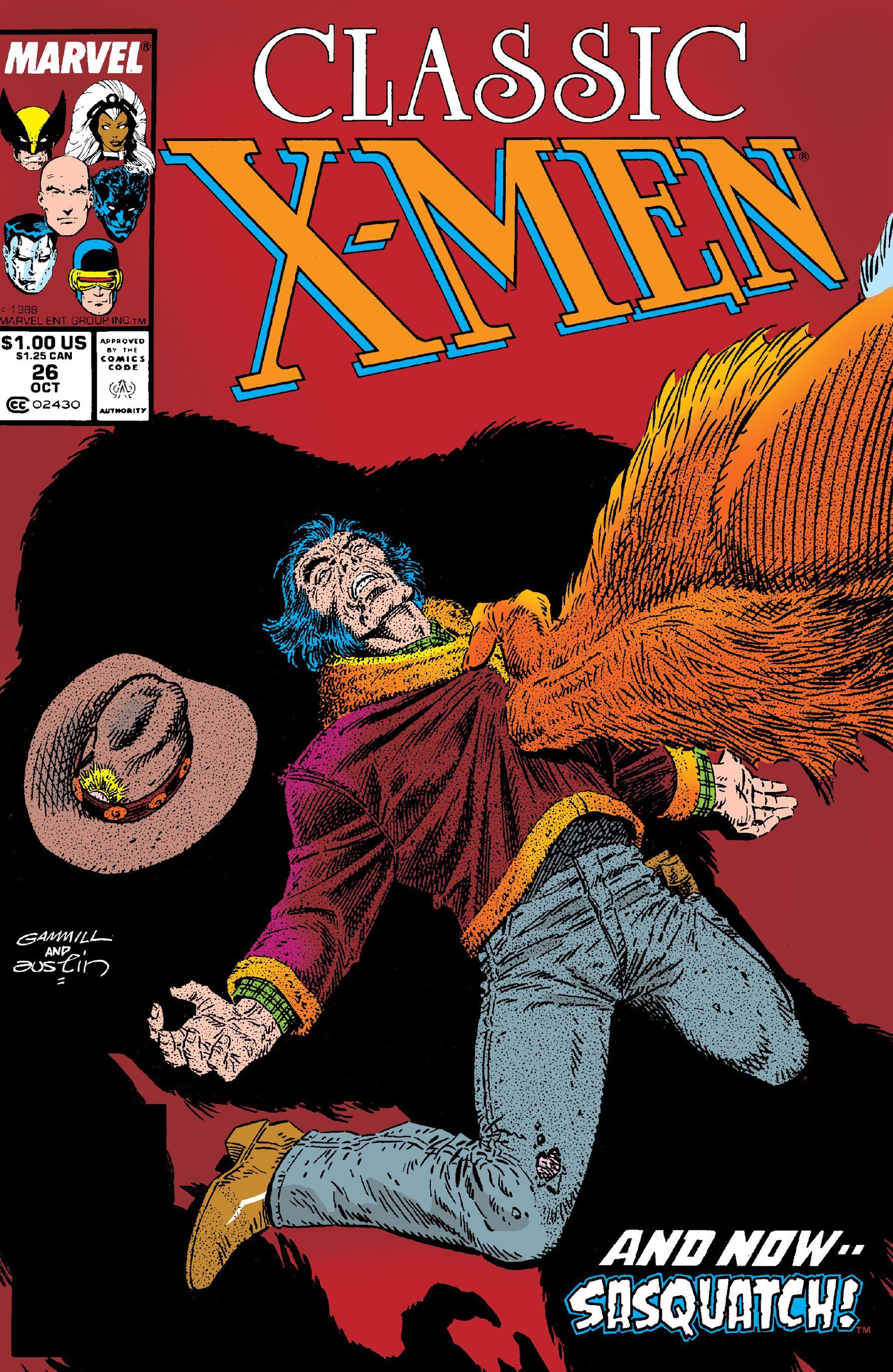 Classic X-Men 026 1988 Digital Shadowcat