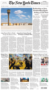 The New York Times – 08 October 2019