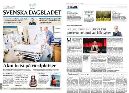 Svenska Dagbladet – 07 februari 2018