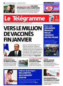 Le Télégramme Landerneau - Lesneven – 08 janvier 2021
