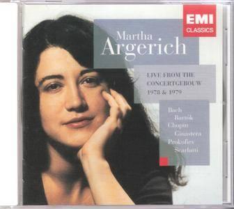Martha Argerich: Live Concertgebouw 1978 & 1979 (2011) [SACD-R][OF]