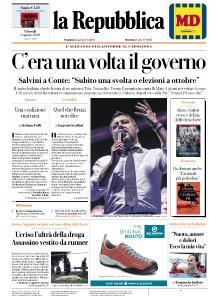la Repubblica - 8 Agosto 2019