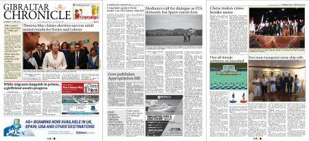 Gibraltar Chronicle – 05 May 2018