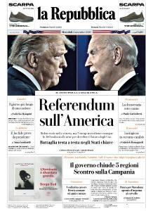la Repubblica - 4 Novembre 2020