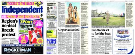 Sunday Independent Bristol Yeovil and Somerset – September 01, 2019
