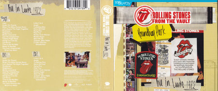 The Rolling Stones - From The Vault: Live in Leeds 1982 (2015) [2CD & Blu-Ray]