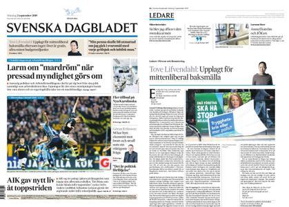 Svenska Dagbladet – 02 september 2019