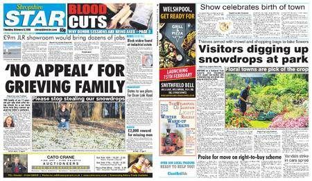 Shropshire Star Shrewsbury Edition – February 08, 2018