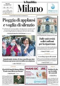 la Repubblica Milano - 12 Maggio 2020