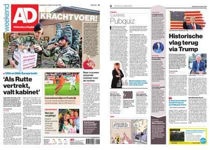 Algemeen Dagblad - Rotterdam Stad – 10 november 2018