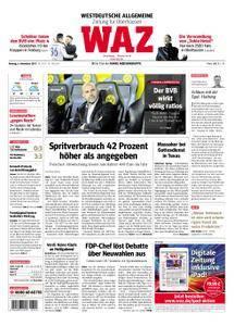 WAZ Westdeutsche Allgemeine Zeitung Oberhausen-Sterkrade - 06. November 2017