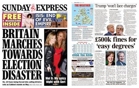Daily Express – March 24, 2019