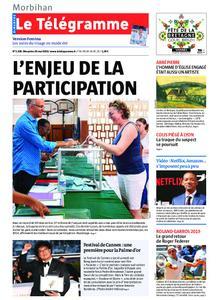 Le Télégramme Auray – 26 mai 2019