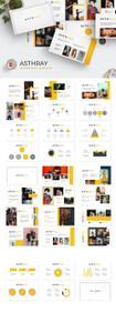 Ashtray - Powerpoint, Keynote, Google Sliders Templates