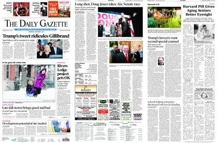 The Daily Gazette – December 13, 2017