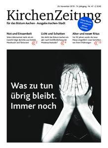 KirchenZeitung für das Bistum Aachen – 24. November 2019