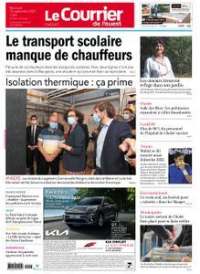 Le Courrier de l'Ouest Cholet – 15 septembre 2021