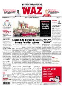 WAZ Westdeutsche Allgemeine Zeitung Oberhausen-Sterkrade - 29. Mai 2018