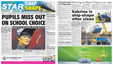 Shropshire Star Shrewsbury Edition – March 02, 2019