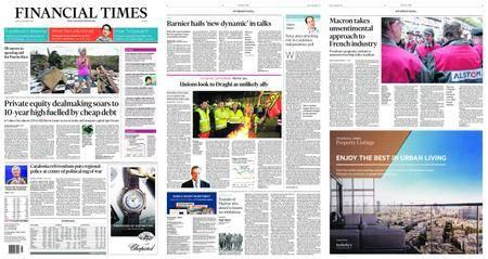 Financial Times Europe – September 29, 2017