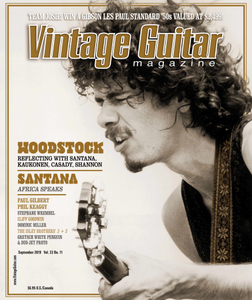 Vintage Guitar - Septmber 2019