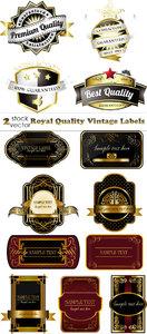 Vectors - Royal Quality Vintage Labels