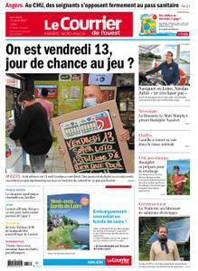 Le Courrier de l'Ouest Angers – 13 août 2021