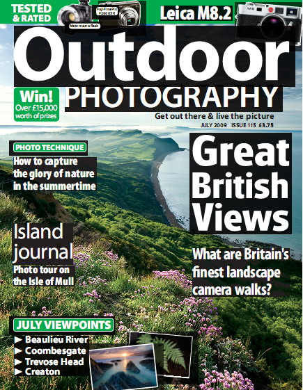 Outdoor Photography Magazine July 2009