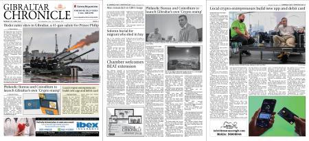 Gibraltar Chronicle – 12 April 2021