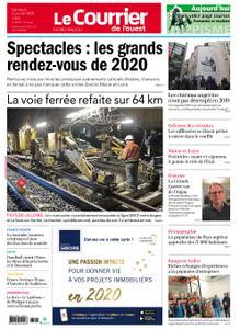 Le Courrier de l'Ouest Nord Anjou – 03 janvier 2020