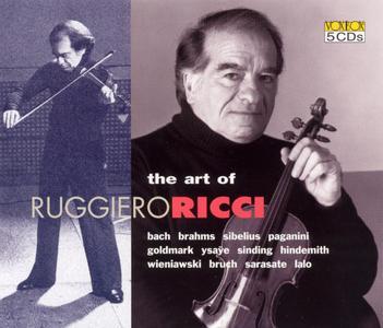 Ruggiero Ricci - The Art of Ruggiero Ricci (5CD) (2003)