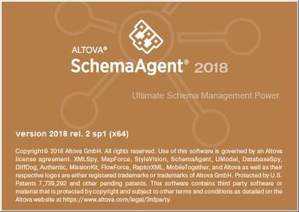 Altova SchemaAgent 2018 v20.2.1 R2 SP1 (x64)