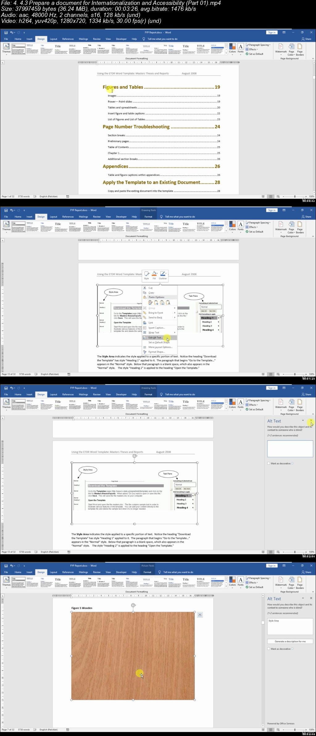 MOS WORD EXPERT 77-726 Exam Preparation (Solution Based)