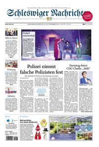 Schleswiger Nachrichten - 23. November 2019