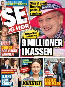 SE og HØR – 04. september 2019