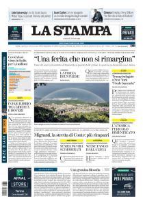 La Stampa Torino Provincia e Canavese - 4 Agosto 2020