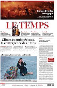 Le Temps - 15 août 2019