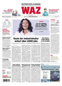 WAZ Westdeutsche Allgemeine Zeitung Oberhausen-Sterkrade - 14. November 2018