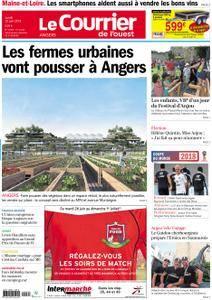 Le Courrier de l'Ouest Angers - 25 juin 2018