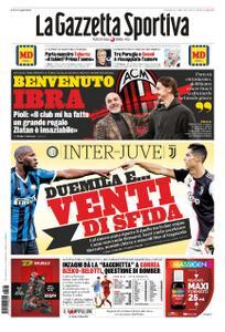 La Gazzetta dello Sport Sicilia – 05 gennaio 2020