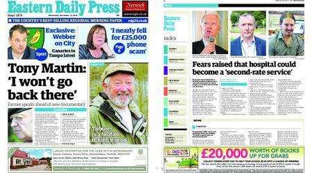 Eastern Daily Press – November 14, 2018