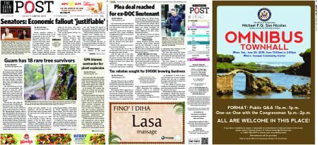 The Guam Daily Post – June 25, 2019