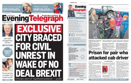 Evening Telegraph First Edition – October 15, 2019