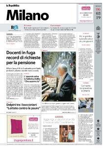 la Repubblica Milano - 6 Marzo 2019